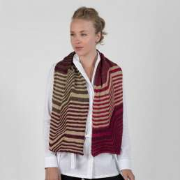 Crazy Stripes Scarf Kit