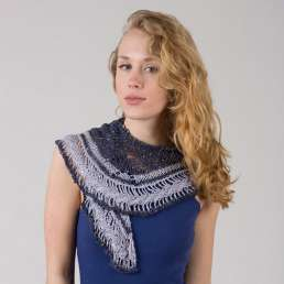 Gold and Silver Shawl Kit