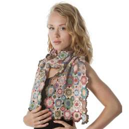 Kaleidoscope Cashmere Shawl Kit