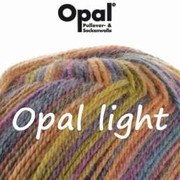Opal light - 3-fach Sockenwolle