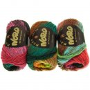 NORO Kureyon Wolle Farbe 352 Red, Pink, Orange, Yellow