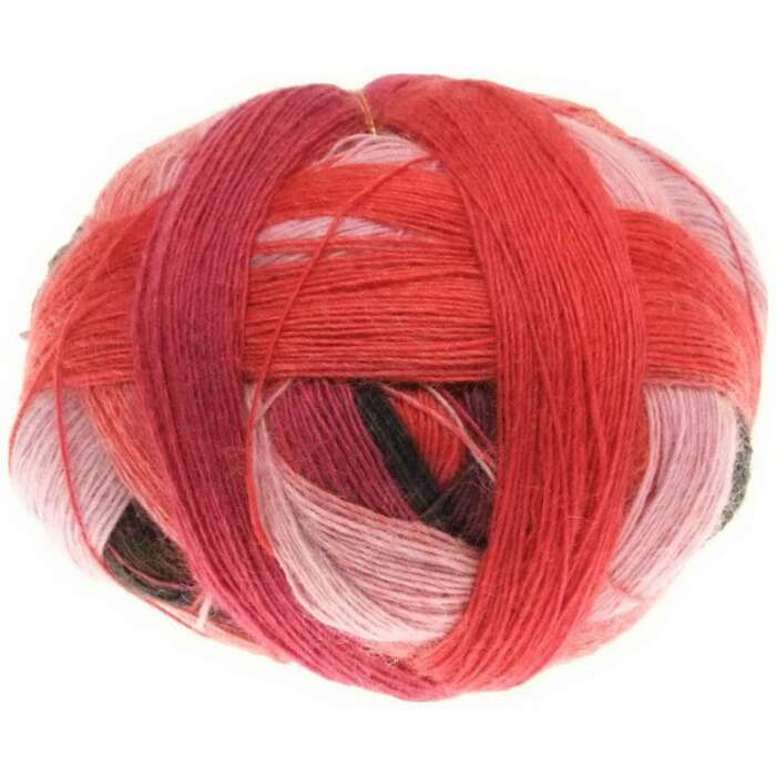 Lace Ball 100 Red to Go