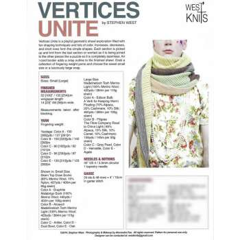 Stephen West - Vertices Unite - gedruckte...
