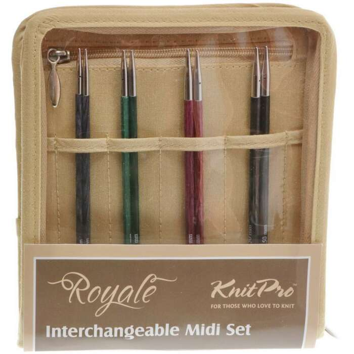 ROYALE - Midi Nadelspitzen Tips Set