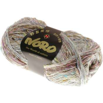 NORO Silk Garden Sock Solo Farbe 001 Natural, Soft Brown,...