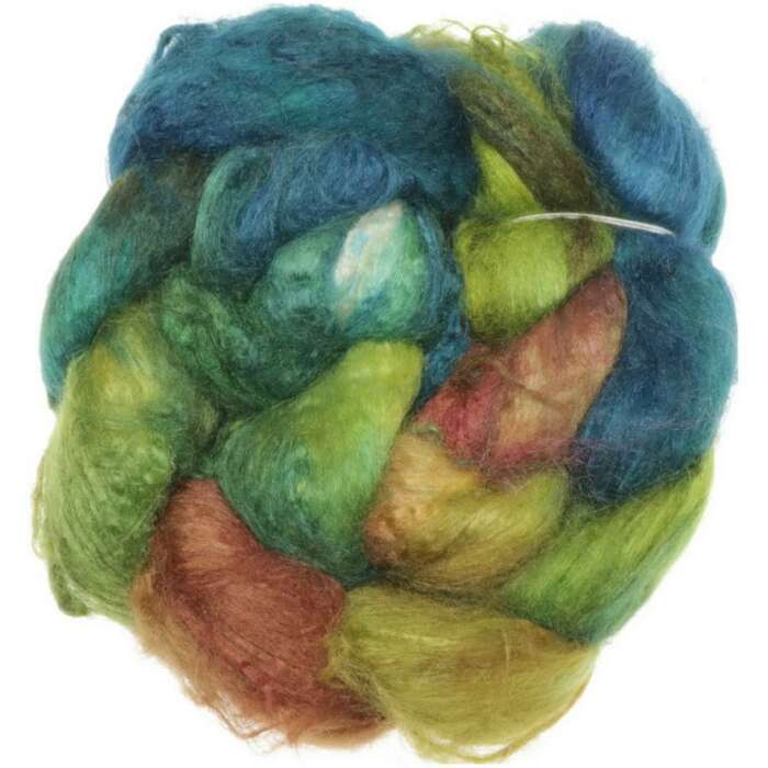 Funnies to Spin - Tussah Silk Brick No.05