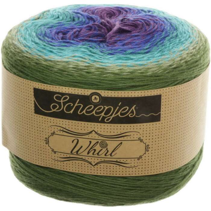 Scheepjes - Whirl Farbe 769 Blackberry Mint Chip
