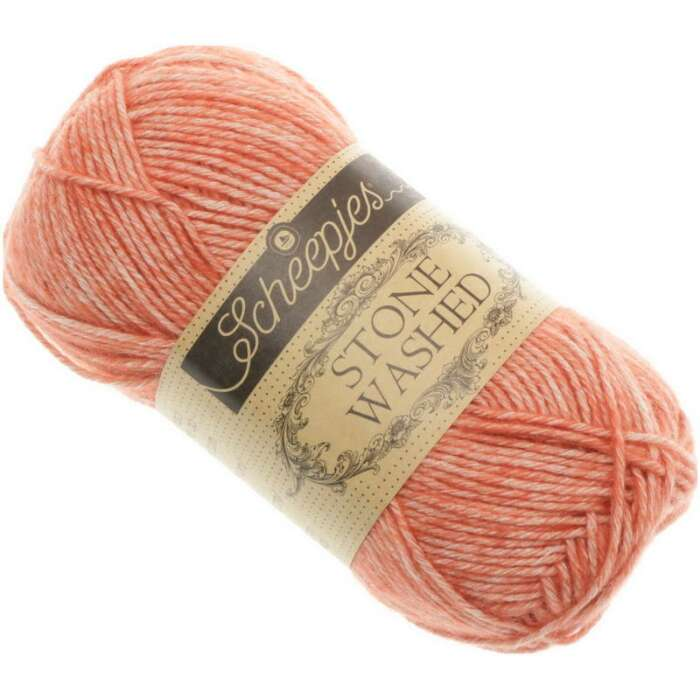 Scheepjes - Stone Washed Farbe 816 Coral