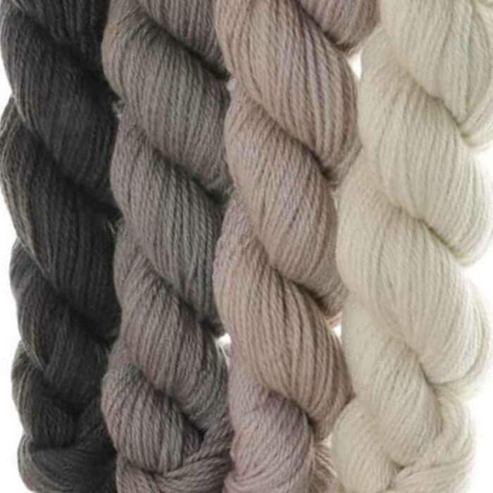 Merino Cloud Gradient Set - Olives