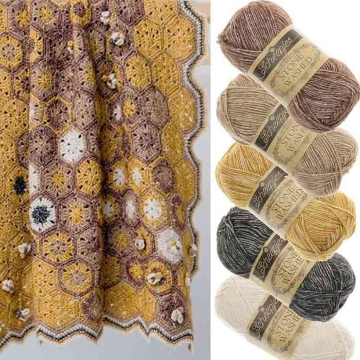 Scheepjes - Garnset Honey Bee Blanket