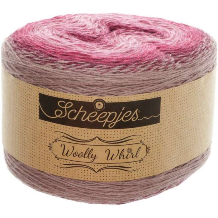 Scheepjes - Woolly Whirl Farbe 474 Bubble Lickcious