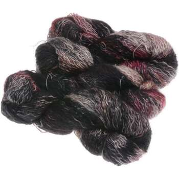 Funnies Curly Silk - Moorit