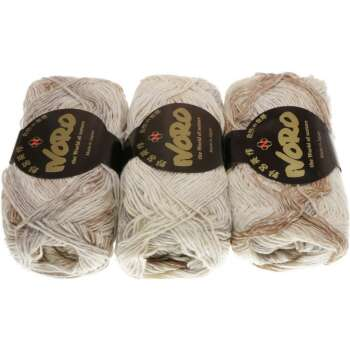NORO Silk Garden Sock Farbe 269 Cream, Tan, Grey