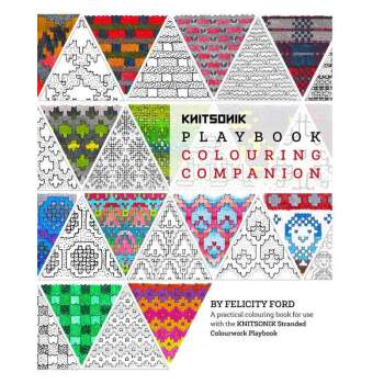 The KNITSONIK Playbook Colouring Companion