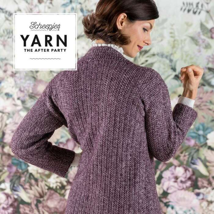Scheepjes Yarn The After Party No. 029 - Herringbone Cardigan