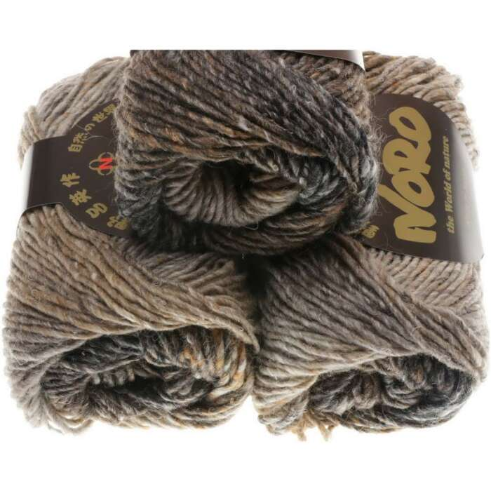 NORO Silk Garden Farbe 267 Taupes, Black