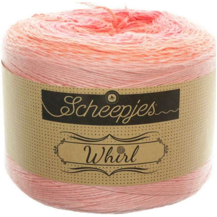 Scheepjes - Whirl Ombré Farbe 557 Coral Catastrophe