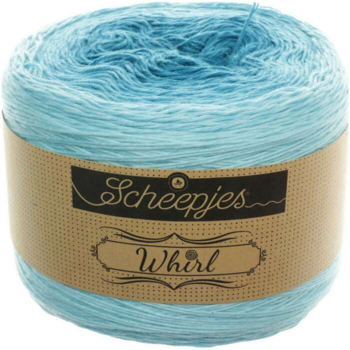 Scheepjes - Whirl Ombré Farbe 559 Turquoise Turntable