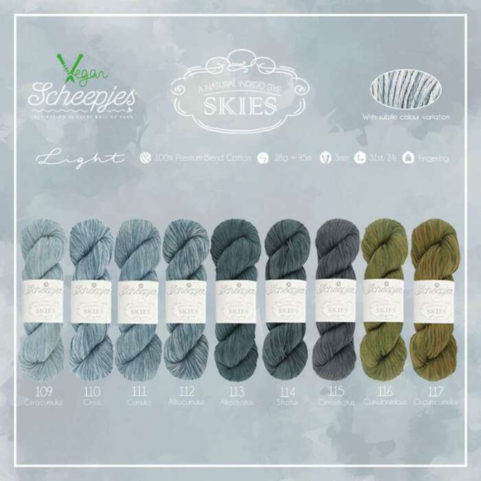 Scheepjes - Skies light Farbe 110 Cirrus